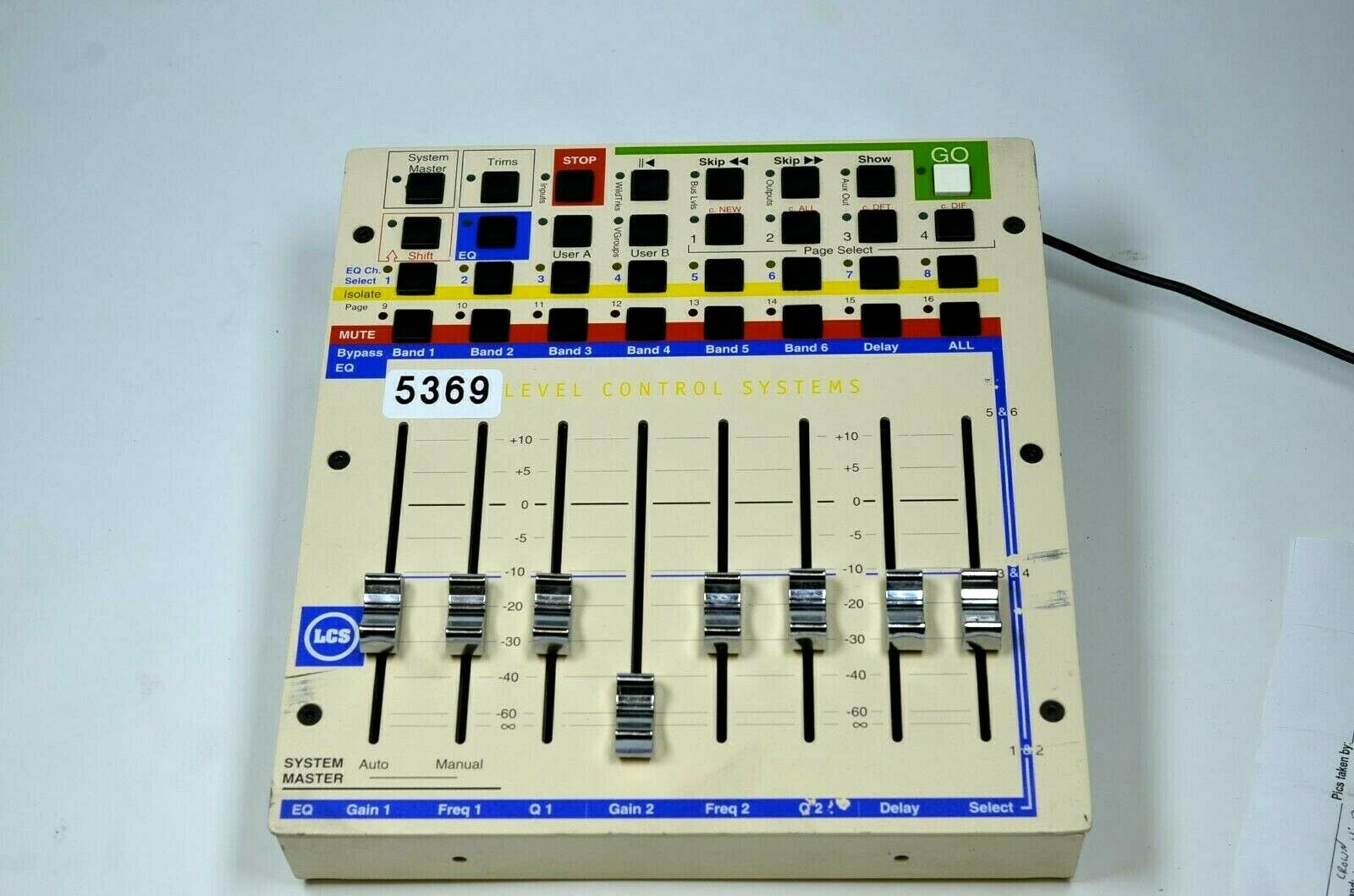 LEVEL CONTROL SYSTEMS CUE MIXER W POWER CORD (ONE)