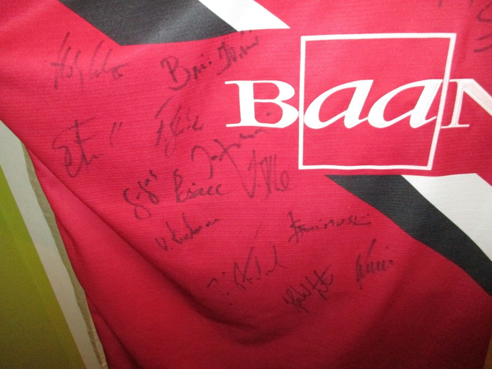 Hannover Hannover Hannover 96 Original Reebok Heim Trikot 1998 99  Baan  + Handsigniert Gr.XXL TOP 97fc85