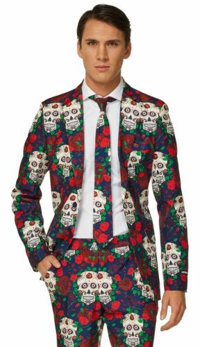 CA1031 Suitmiester Day Of The Dead Mexican Halloween Oppo Suit Opposuits Costume