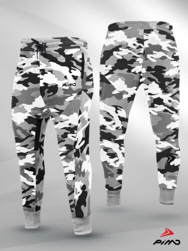PIMD Urban Camo Prime Ajustée Bas Jogging Pantalon D/'Entraînement Fitness Pantalon De Survêtement Gym Camo