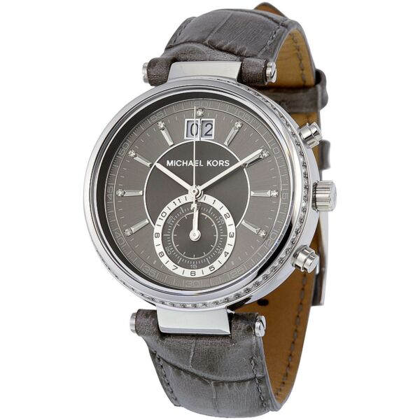 michael kors sawyer mk2432 wrist watch for women g nstig. Black Bedroom Furniture Sets. Home Design Ideas