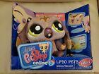 "Littlest Pet Shop LPSO PETS Plum Dog Plush Animal Toy 9"" New in Box"