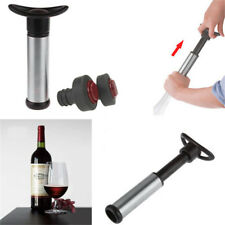 Stopper Cilio Stainless Steel Wine /& Champagne Bottle Cap 2pc Set Sealer