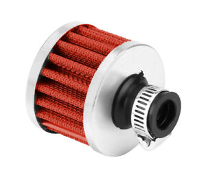 15mm Colours Protective Oil Chrome Breather Filter Universal Fitment 10mm