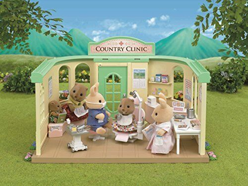Sylvanian Families Calico Critter H-14s shop dentist/'s set 15406 JAPAN
