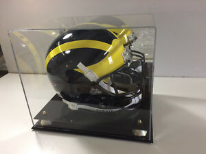 Atlanta Falcons football case full size NFL collectible UV Filtering memorabilia