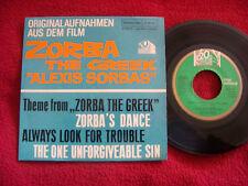 Mikis Theodorakis - Zorba the greek + 3   German EP  45