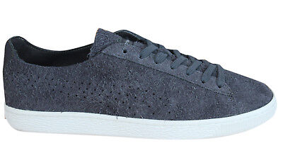 Puma States x Stampd Lace Up Asphalt Grey Mens Leather Trainers 361491 04  D14 e19fbf877