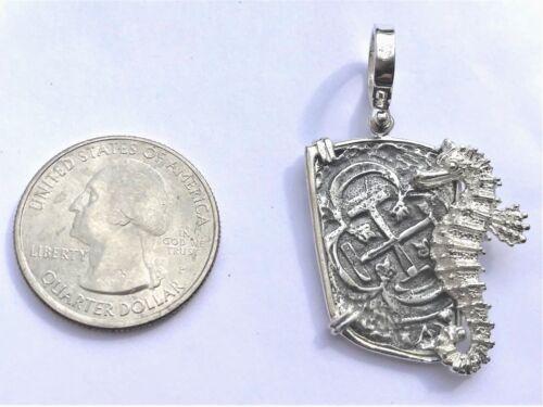 ATOCHA Coin Seahorse Pendant 925 Sterling Treasure Shipwreck Coin Jewelry