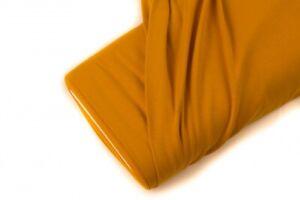 Baumwoll-Interlock-Jersey-mit-Lanoline-Finish-Orange-FvJulie-Uni