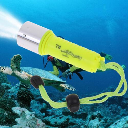 50000LM Unterwasser 50M T6 LED Tauchtaschenlampe Lampe WasserdichtesRSSN