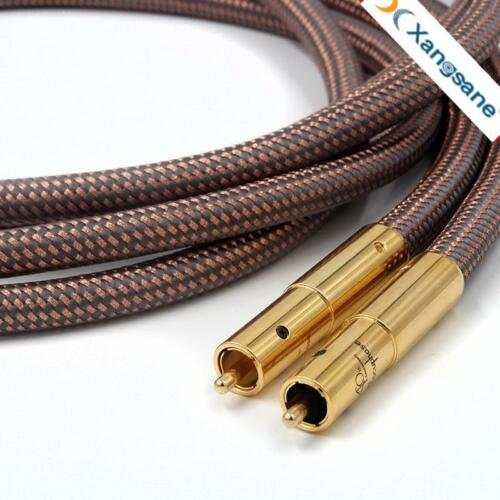 pair Accuphase 40th Anniversary Edition RCA Plug interconnect Audio Cable 1.5M