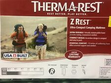"ThermaRest Z- Rest Camping Mattress 72"" Sleeping Mat - NEW IN PACKAGE"