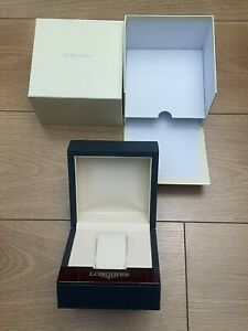 Genuine Authentic Longines Swiss Watch Presentation Box Case Complete Outer Box