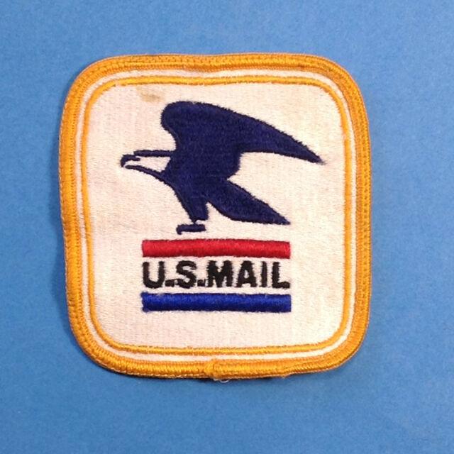 Letter Carrier Uniform Patch Obsolete U.S Vintage POST OFFICE DEPT Mail USPS