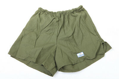 Pantaloncino ginnastica bermuda short eserecito italiano con elastico in vita | eBay