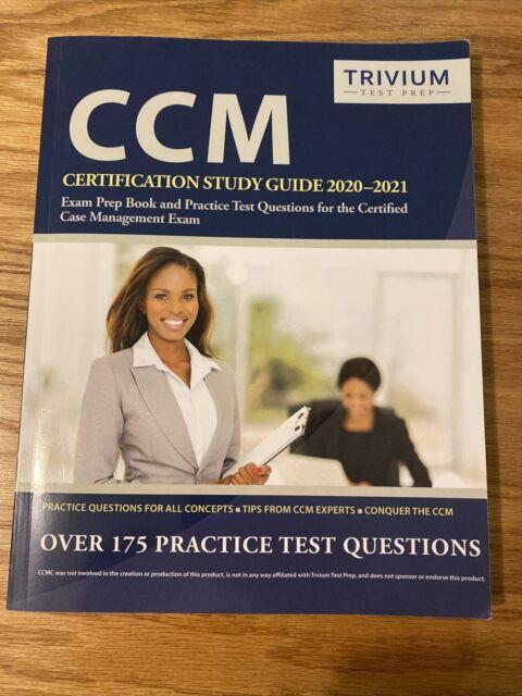 ccm study exam prep certification practice test management