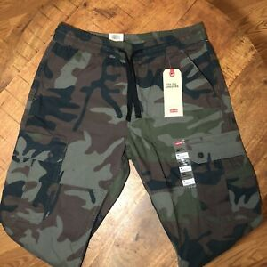 Levi-039-s-Joggers-Camo-Aviator-Utility-Cargo-Pants-795180005-Mens-Medium