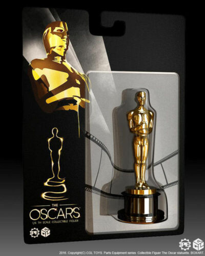 CGLTOYS PE02 1:6 Scale Oscar Statuette Alloy Golden Model For 12/'/' Action Figure