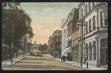 Postcard HALIFAX Nova Scotia/CANADA  George St West Business Storefronts 1905?