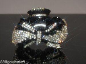 New Gorgeous Hair Clip Claw w Shinny Swarovski Crystals Hair Accessories