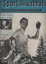LO SPORT ILLUSTRATO  1952  fausto coppi