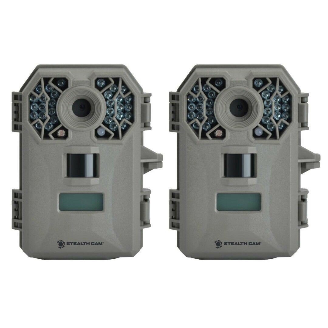 (2) Stealth Cam G30 TRIAD Technology Equipped Digital Trail Game Camera 8MP