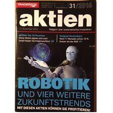 AKTIEN 31/2016 + ROBOTIK UND VIER WEITERE ZUKUNFTSTRENDS + TOP 10 + (Lot2)