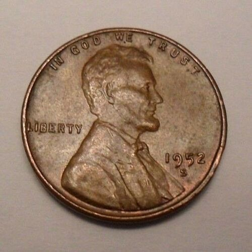 1952 S Lincoln Cent Penny *AU ABOUT UNCIRCULATED*  *FREE SHIPPING*