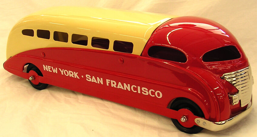 Steelcraft Bus New York-San Francisco ( circa 1940 ) ) ) 317bd7