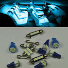 Ice Blue 16 Lights SMD LED Interior kit For Jeep Grand Cherokee WJ 1998-2004