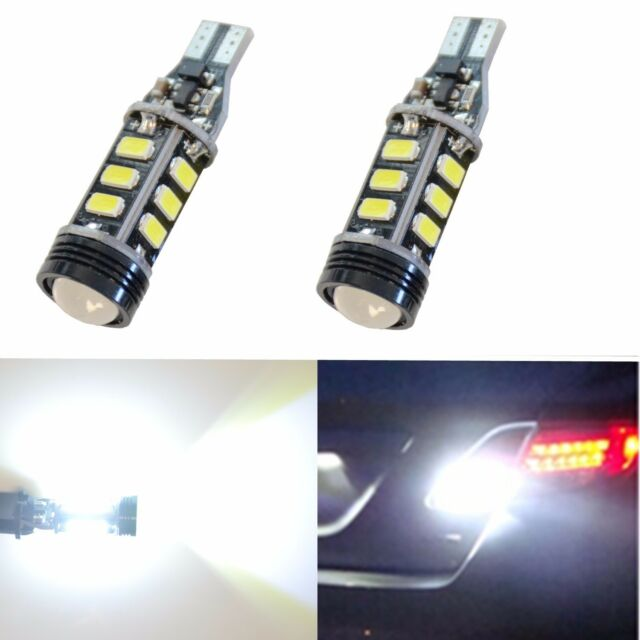 JDM ASTAR 921 912 CANBUS High Power COB 5730 SMD LED Backup Reverse Lights Bulbs