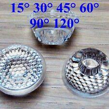 15° High Power LED Lens+Stand Condenser Lens Reflector Total D:14.5mm H:14.5mm