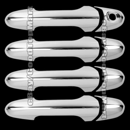 For 2003-2006 2007 2008 Chrysler PACIFICA 4 Chrome Door Handle Covers w//o PSK