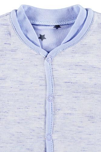 /%/% BELLYBUTTON tournant-Sweatjacke Uni//étoiles bleu clair Taille 56-68 Neuf/%/%