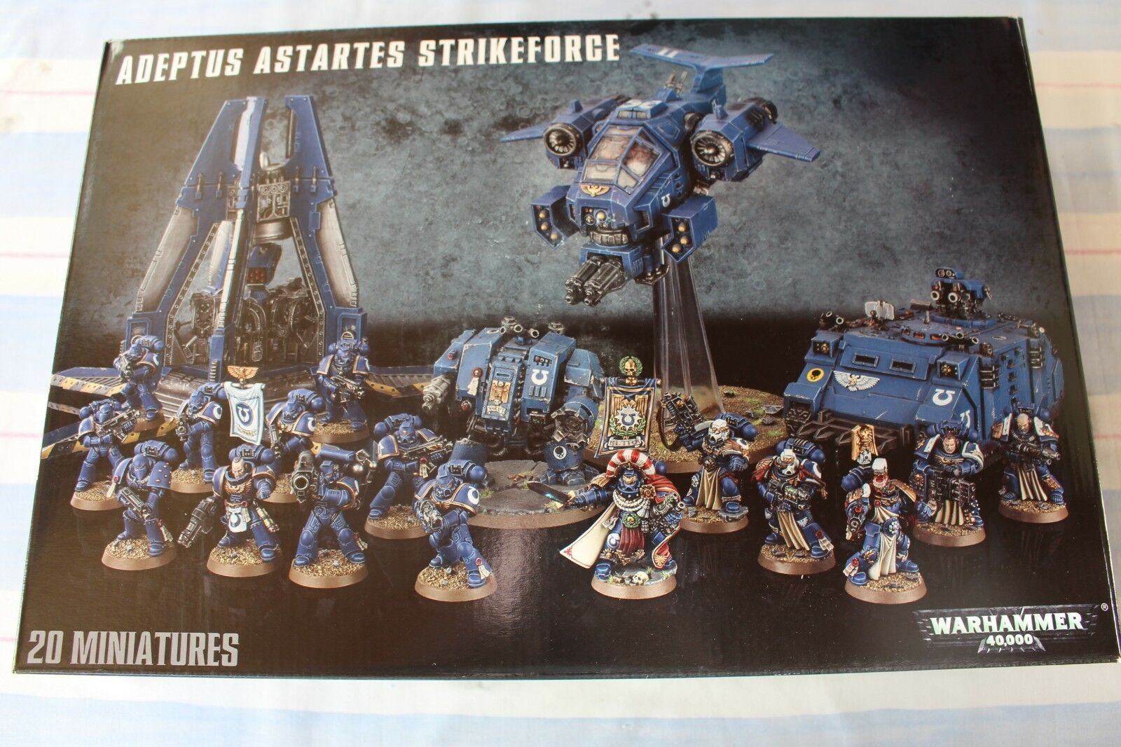 Games Workshop Warhammer 40k Adeptus Astartes Strikeforce Army Space Marines New