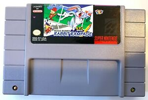 Bugs-Bunny-Rabbit-Rampage-SNES-Super-Nintendo-Game-Tested-Working-VG