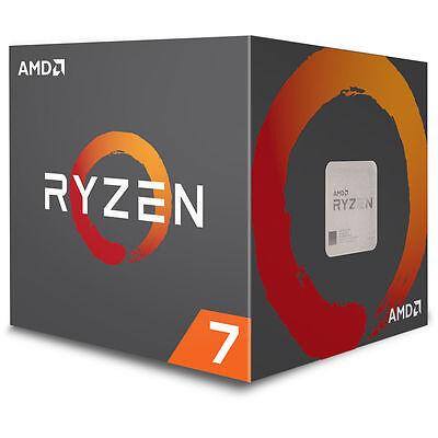 AMD Ryzen 7 1700 Processor 16 MB Cache 3.0 GHz AM4 8 Core 16 Thread Desktop CPU