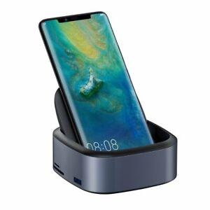 USB-HUB-Station-d-039-Accueil-Chargeur-Type-C-4k-HDMI-3-5-mm-CARTE-SD-JACK-PORT