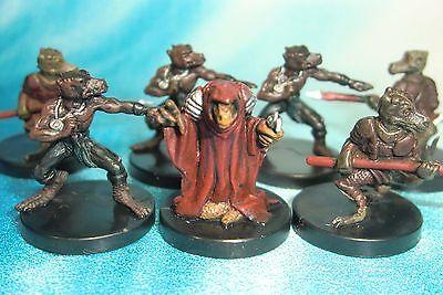Dungeons & Dragons Miniatures Lot  Kobold Soldier Kobold Sorcerer !!  s104
