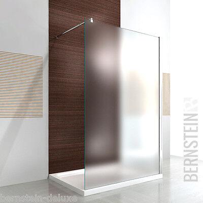 Duschabtrennung Walk-In Duschwand NANO 10mm Glas Echtglas EX101 - Breite wählbar