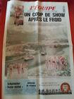journal l'équipe 09/07/96 CYCLISME TOUR DE FRANCE 1996 BJARNE RIIS