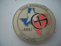 VHTF Texas Winter 2005 Geocoin, silver