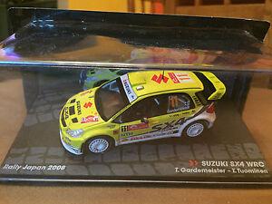 DIE-CAST-034-SUZUKI-SX4-WRC-T-GARDEMEISTER-T-TOUMINEN-RALLY-JAPAN-2008-034-1-43