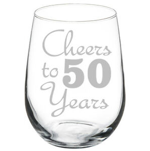 Image Is Loading Cheers To 50 Years Anniversary 50th Birthday Gift