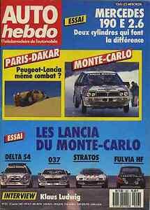 AUTO-HEBDO-n-557-du-21-Janvier-1987-ESSAI-course-DELTA-S4-037-STRATOS-FULVIA-HF