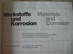 Werkstoffe-Korrosion-Materials-Corrosion-Korrosionschutz-Forschung-32-Jg-1981