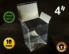 "Display Box Cases / Protectors for 4"" Funko Pop Vinyl (Pack of 10)"
