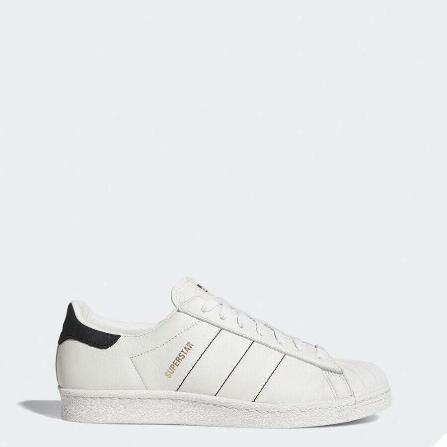 Adidas Originales Superstar 80S blancoo Negro Zapatillas Zapatos CQ2653 Sz5-12