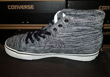 d1f4ec5ea7470a Converse Cons Pro Leather Vulc Mid Retro Trainers UK Size 5.5 BNIB  Black Grey